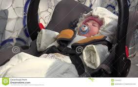 Newborn Swing Chair Little Sleeping Newborn Baby Swing In Safety Car Seat 4k Ultra Hd