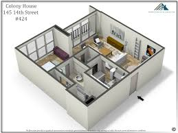 house perspective with floor plan colony 424 metro atlanta real estate specialist