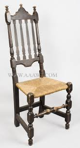 William And Mary Chair Antique Furniture Chairs Early Pilgrim American