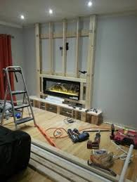 Inexpensive Electric Fireplace by The Electric Fireplace Was Installed Http