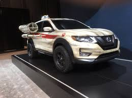 nissan rogue star wars edition nissan rogue u0027s star wars editions draws attention at auto show