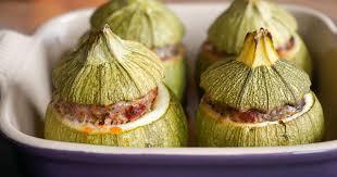 cuisiner la courgette ronde recettes de courgettes rondes idées de recettes à base de
