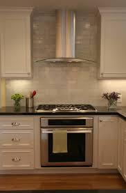 kitchen innovative kitchen fan vent with hood above stove black