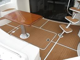 alternative pontoon boat decking products wood plastic boat deck