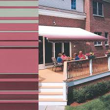 Where Are Sunsetter Awnings Made Fabrics U0026 Colors U2013 Retractable Awnings For Wisconsin