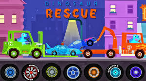 tow trucks kids dinosaur cartoons dinoco cars monster