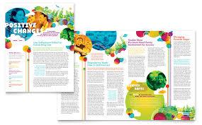 youth program newsletter template word u0026 publisher