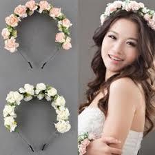 serre tãªte mariage tête fleur mariage bateme coiffure russe 2 rangs fleuri