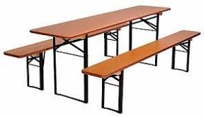 german beer garden table and bench beer garden table and bench set folding german made ebay