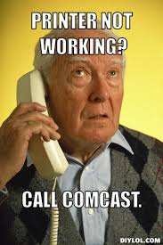 Comcast Meme - have a complaint for comcast we can help submit feedback at