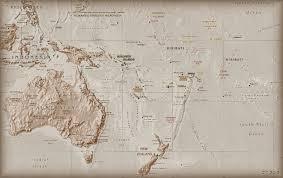 Oceania Map Oceania Map Wallpapers Oceania Map Stock Photos