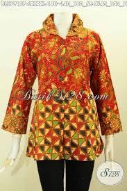 desain baju batik untuk acara resmi aneka busana batik wanita dewasa produk baju batik solo terkini