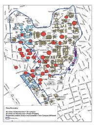 map of ucla crime map safe cus
