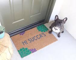 Summer Doormats Handpainted Custom Clever Doormats By Nickeldesignsshop On Etsy