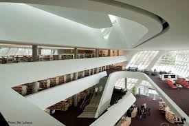 image library truth hardware a light touch bing thom s library in canada buildings