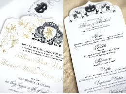 masquerade wedding invitations masquerade wedding invitations bold names black and white wedding