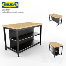 ikea stenstorp kitchen island 3d models table ikea stenstorp kitchen island