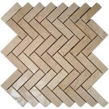 backsplash crema marfil tile flooring the home depot