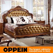 Bedroom Sets From China Aliexpress Com Buy Luxury Traditional Bed With Solid Wood Frame