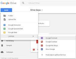 langkah membuat google form cara membuat formulir online dengan google form gambar