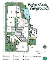 Colorado Counties Map Fairgrounds Boulder County