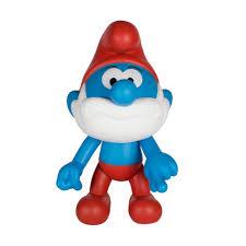 collectible figure leblon delienne smurfs papa smurf artoyz