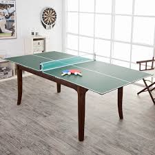 dining room table tennis set fat cat portable table tennis conversion top hayneedle