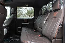 ford f250 seats 2017 ford f 250 duty king ranch crew cab 4x4 review web2carz