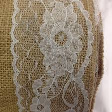 Burlap Lace Table Runner Burlap And Lace Table Runner 14