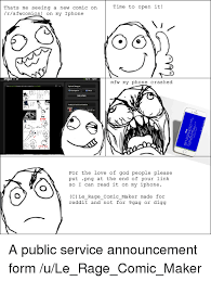 Meme Comics Maker - 25 best memes about iphone rage comics and reddit iphone