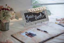 vintage guest book painted vintage guest book sign