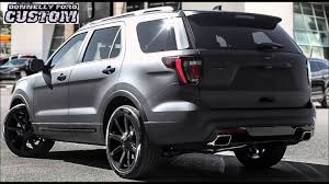 ford explorer sport wheels donnelly custom curtis lazar edition 2016 ford explorer sport
