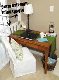 my new makeshift office space living rich on lessliving rich on less