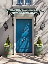 Glass Awnings For Doors Small Craftsman Front Door Awning Houzz