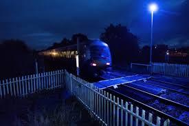 calming u0027 blue lights signal bid to prevent railway suicides the