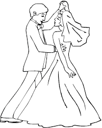 glamorous collection wedding coloring pages coloringpagehub