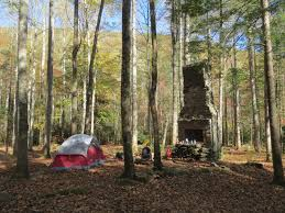 campsite came with a fireplace great smoky mountains forney