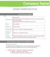 exhibit marketing plan template u2013 tradeshow turnaround