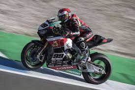 superbike honda double points finish for triple m honda world superbike team at