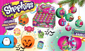 Halloween Glitter Graphics by Shopkins Halloween And Christmas Ornament Bauble Exclusive 2 Pack