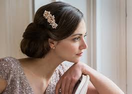 bridesmaid hair accessories bridal wedding hair accessories glitzy secrets
