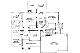 Floor Plans For Ranch Style Homes Craftsman House Plans Goldendale 30 540 Associated Designs
