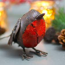 robin decoration by garden trading
