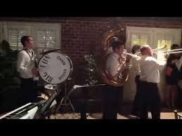 rewind wedding band rewind second line brass band wedding parade