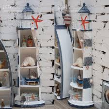 lighthouse home decor mediterranean style home decor wood furnishings lighthouse cd rack