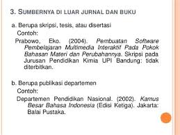 panduan penulisan daftar pustaka dari jurnal collection of penulisan daftar pustaka dari jurnal koran dan majalah