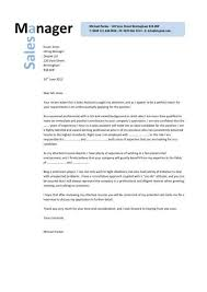 lovely sample cover letter for sales manager position 76 with