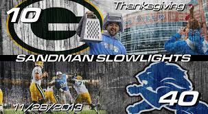 lions game thanksgiving 2014 lions vs packers thanksgiving day slowlights youtube