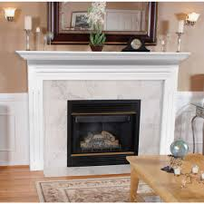 full mdf fireplace mantel surround with fluted legs economy mantel