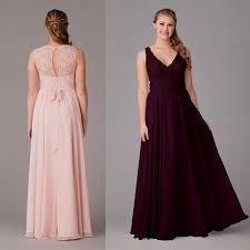 plum chiffon bridesmaid dresses naf dresses